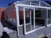 Télikert íves tetővel Fót