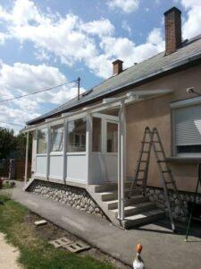 télikert teraszbeépítés referenciák